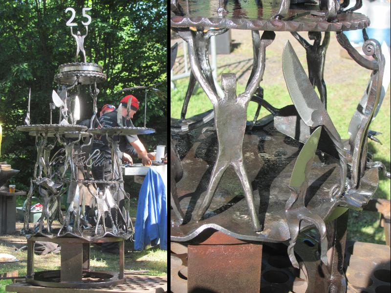 Sculpture 25ème édition Coutellia