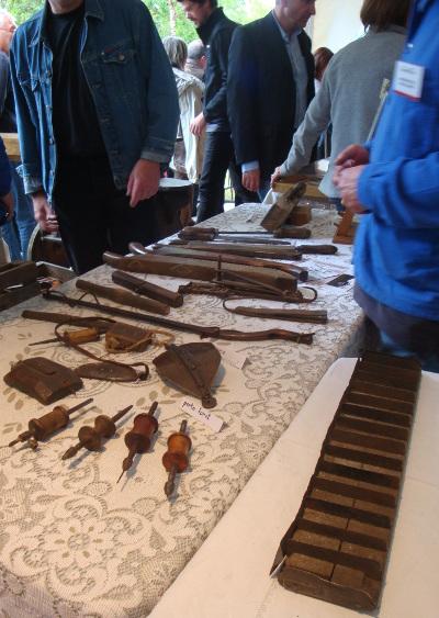 Vieux outils de Coutellerie